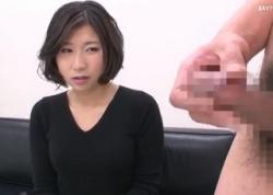 素人妻センズリ鑑賞 セックスレスな若妻にギンギンの勃起チ○ポを見せたら 興奮しちゃったみたいで色々とスケベなコトさせてくれました!の画像