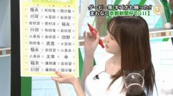 森香澄アナ ( ゚∀゚)o彡°おっぱい!おっぱい!ムギュっと巨乳セクシー画像の画像