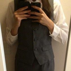 ニンフォマニアさん「OL事務服なんて需要ありませんか?」の画像