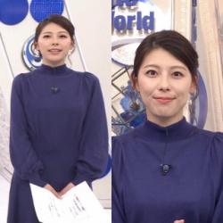 TBS上村彩子アナが美貌と美乳おっぱいで魅せた 1/17「S☆1」の画像
