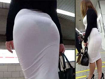 タイト スカート 盗撮