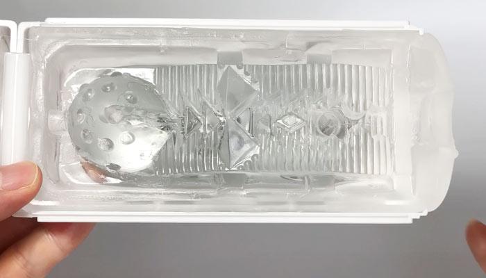 TENGA FLIP HOLEの内部構造の画像