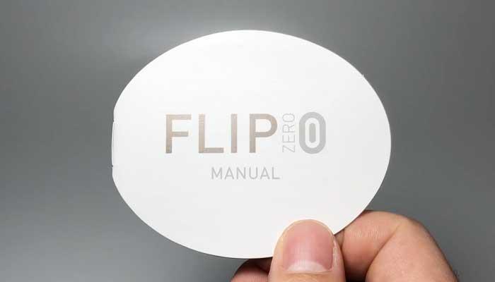 TENGA FLIP 0の説明書の画像