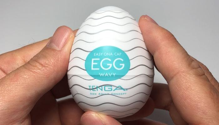 TENGA EGG WAVYのパッケージ画像